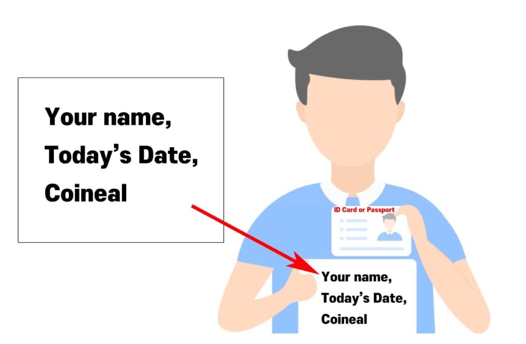 コインニール登録(口座開設)のKYC4