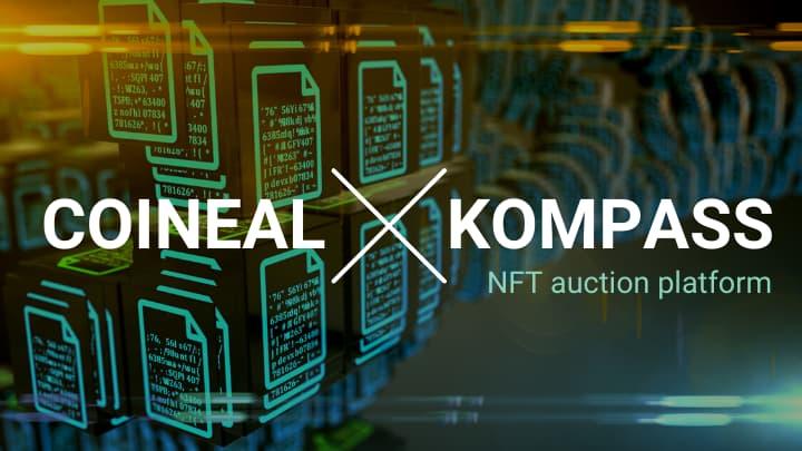 コインニールとNFTのコンパスが提携発表