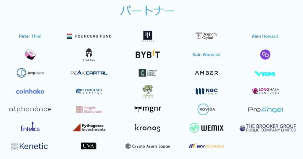 BitDAOのパートナー企業